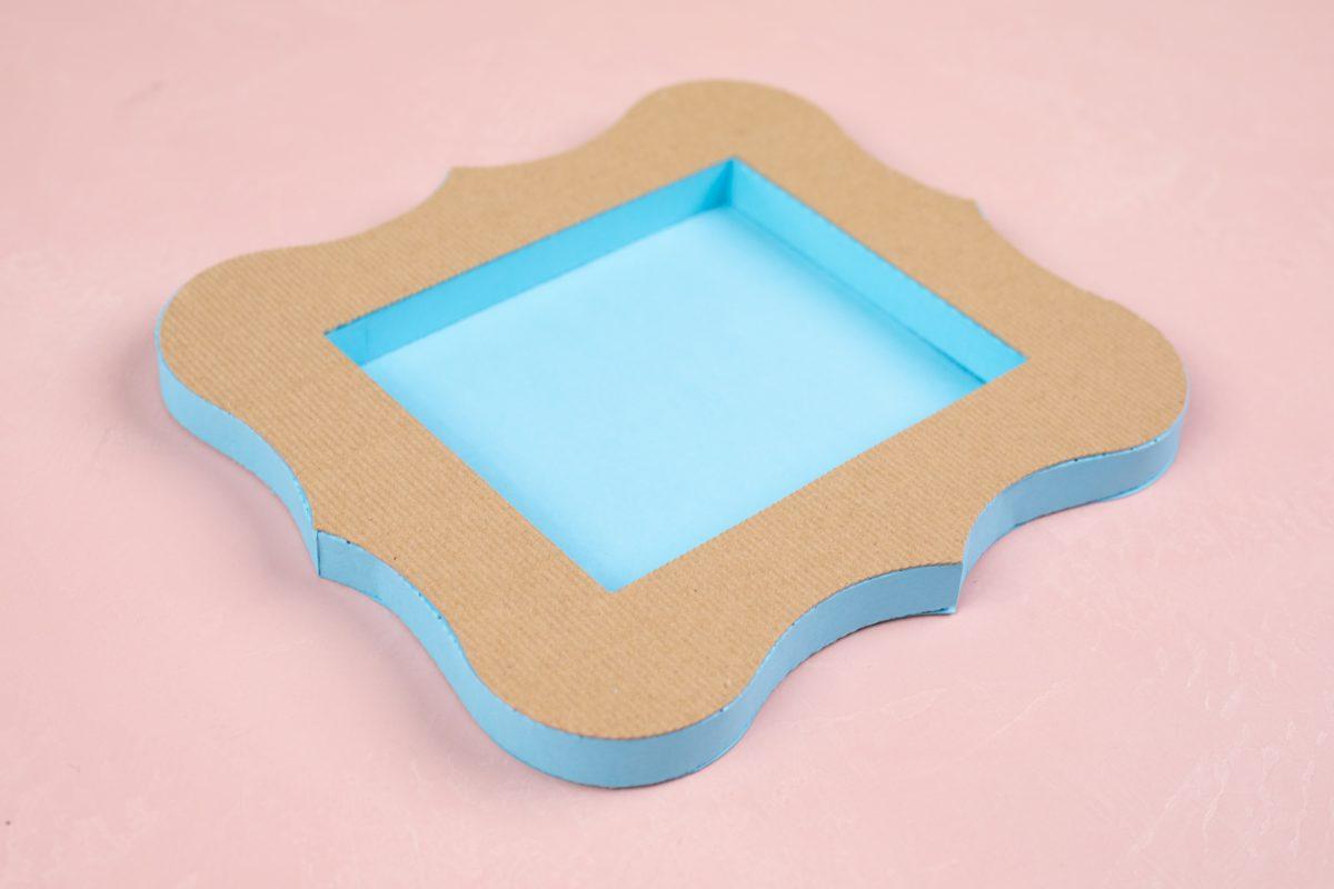 Creare cornice in cartoncino Silhouette Cameo 5