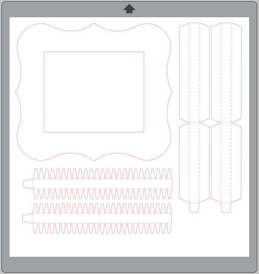 File cornice cartoncino idee Creativamente Plotter 1
