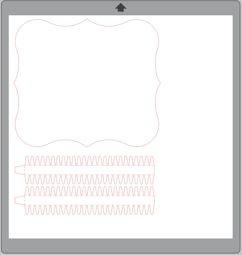 File cornice cartoncino idee Creativamente Plotter 2