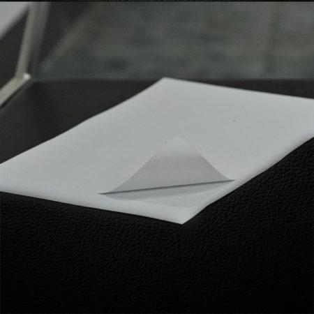 Carta adesiva formato A4 per etichette inkjet. Da tagliare con Silhouette Cameo Portrait Curio Cricut Scancut