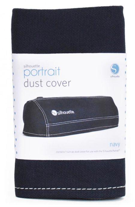 Cover Antipolvere Silhouette Portrait Blu Navy COVER-POR-NAV Creativamenteplotter importatore ufficiale Silhouette America