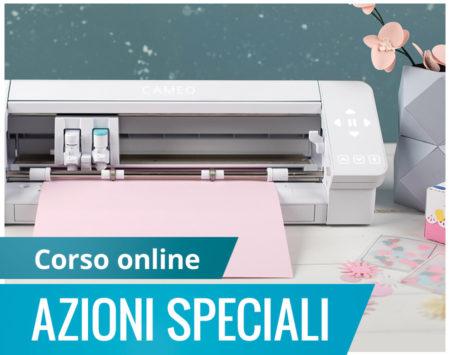 Corso online azioni speciali Silhouette Academy Italia