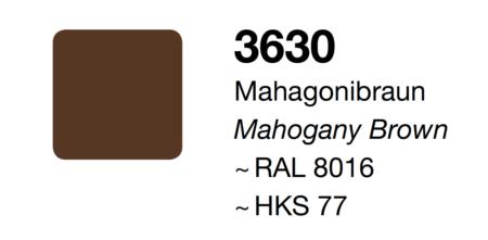 Adesivo Marrone Mogano Opaco 300mm x 10metri