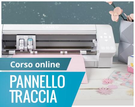 Corso online pannello traccia Silhouette Academy Italia
