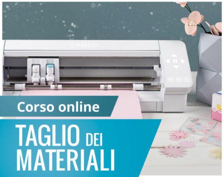 Corso online taglio materiali Silhouette Academy Italia