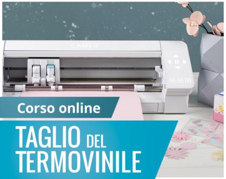 Corso online taglio termovinile Silhouette Academy Italia