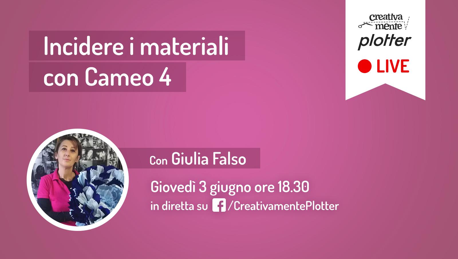 Diretta-Giulia-incisione creativamente plotter