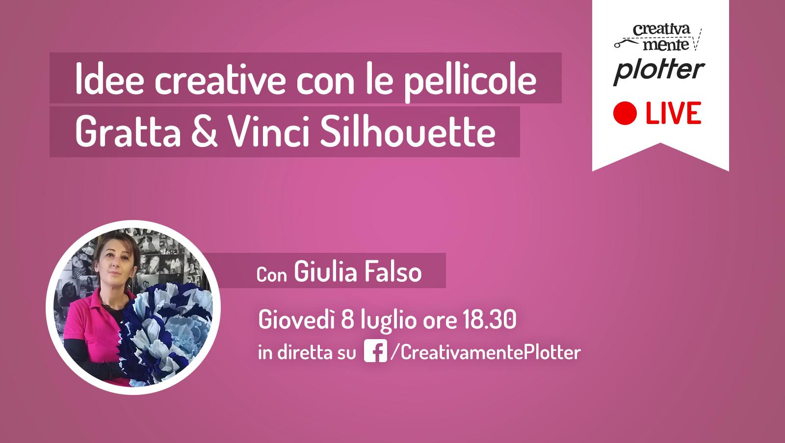 Diretta-Giulia-gratta vinci creativamente plotter