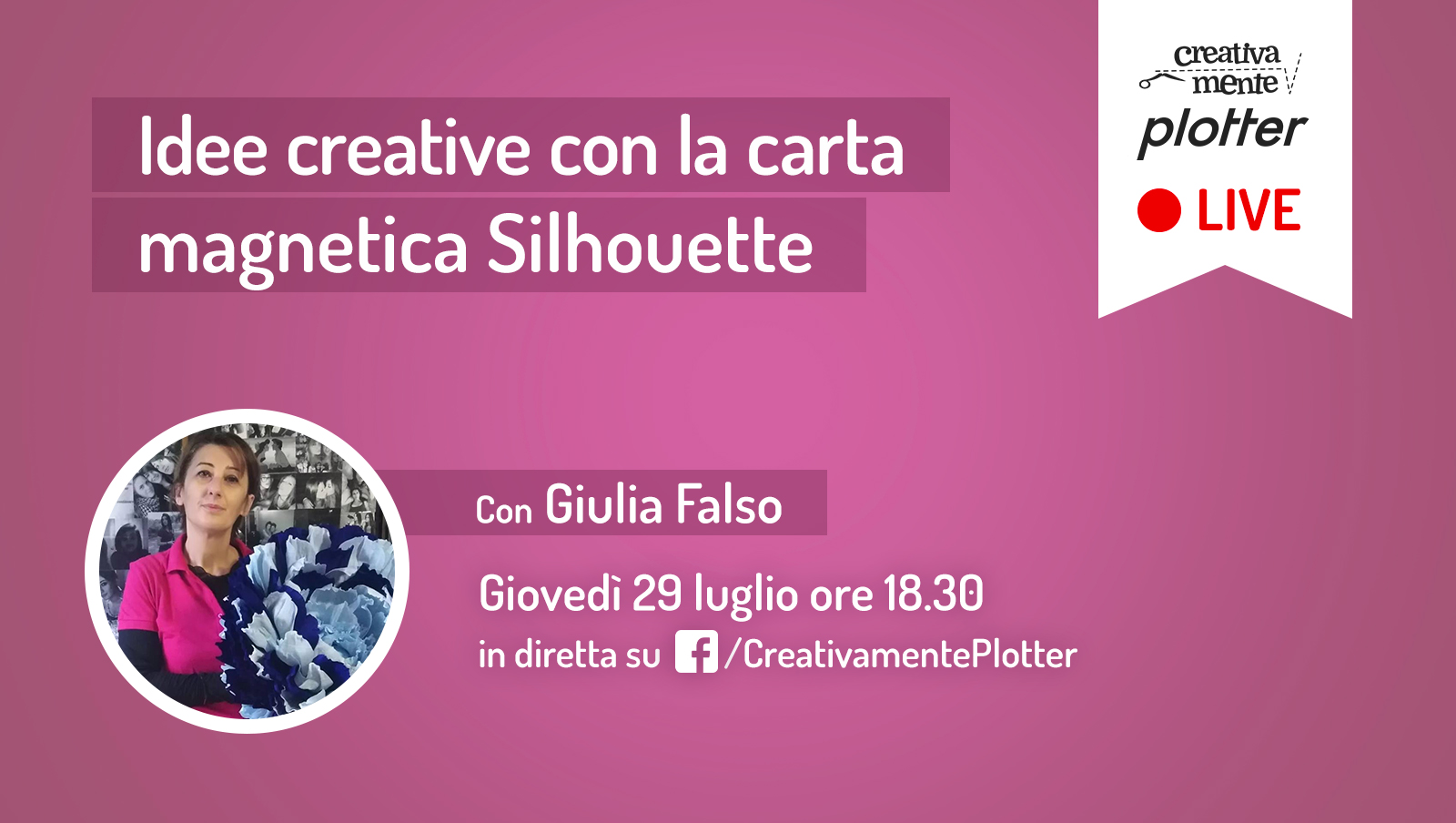 Diretta-Giulia-carta magnetica creativamente plotter